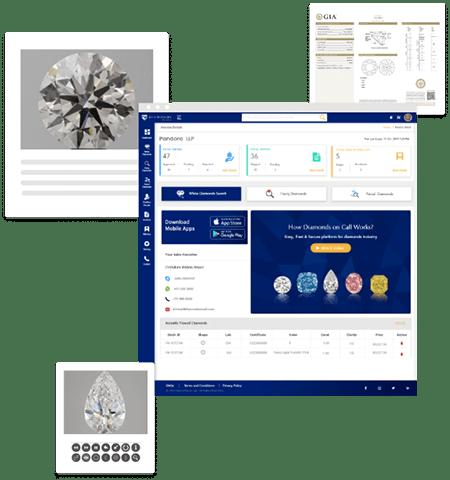 online diamond buying selling platform